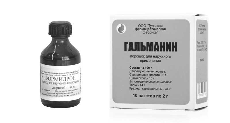 Формидрон и Гальманин - основные аналоги препарата