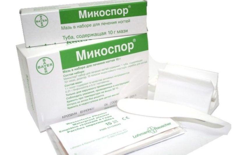 Набор для лечения грибка ногтей