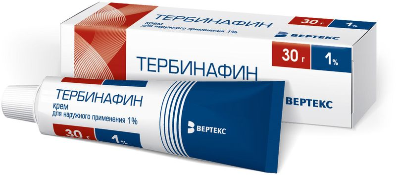 Тербинафин крем - фото