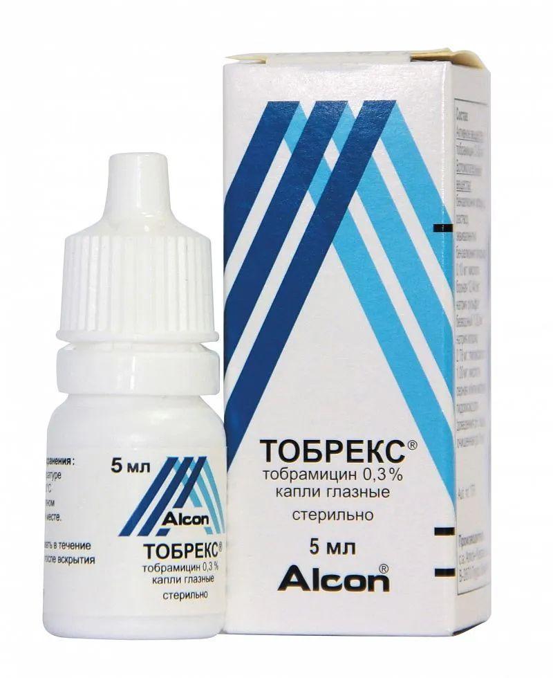 Тобрекс - аналог, применяемый при непереносимости моксифлоксацина