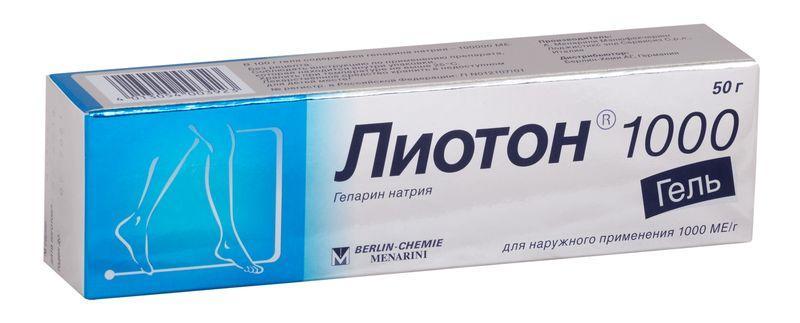 Лиотон - средство для профилактики варикозной болезни