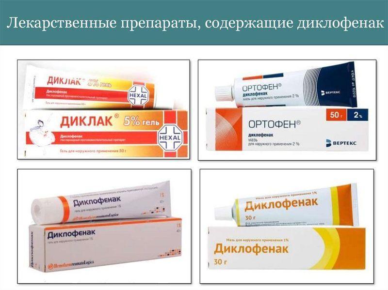 Диклофенак - нестероидный противовоспалительный препарат