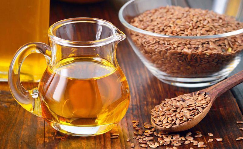Льняное масло в составе геля