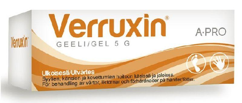 Верруксин - средство от папиллом
