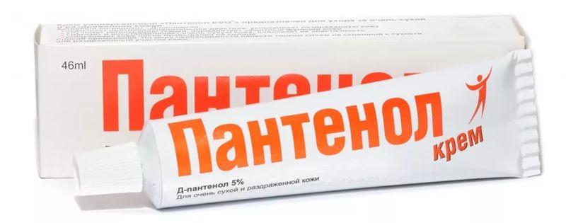 Пантенол - мазь с противовоспалительным и смягчающим эффектом