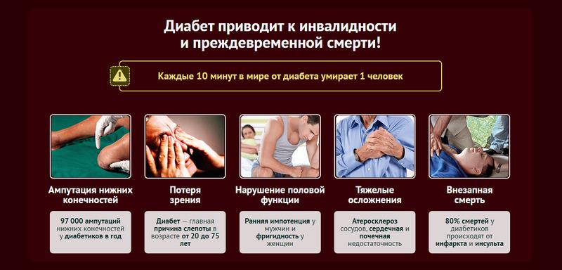 Последствия диабета